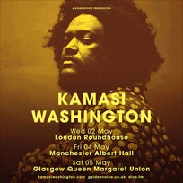 Kamasi Washington at The Roundhouse on Wednesday 2nd May 2018