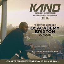 Kano at Brixton Academy on Friday 7th October 2016