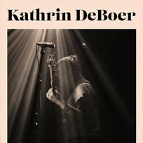 Kathrin deBoer at Echoes on Monday 25th July 2016