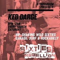 Keb Darge at Strongroom on Saturday 27th April 2019