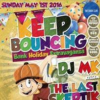 Keep Bouncing at Book Club on Sunday 1st May 2016