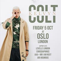 Kelvyn Colt at Oslo Hackney on Friday 5th October 2018