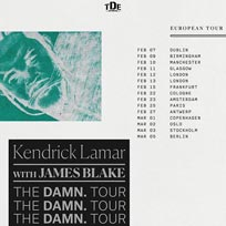 Kendrick Lamar at The o2 on Monday 12th February 2018