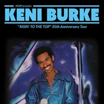 Keni Burke at 229 The Venue on Saturday 13th January 2018
