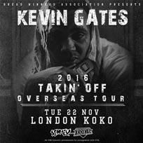 Kevin Gates at KOKO on Tuesday 22nd November 2016