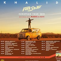 Khalid at The o2 on Tuesday 17th September 2019