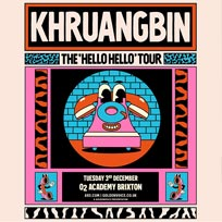 Khruangbin at Brixton Academy on Tuesday 3rd December 2019