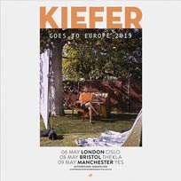 Kiefer  at Oslo Hackney on Monday 6th May 2019