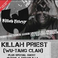 Killah Priest  at Archspace on Thursday 26th April 2018