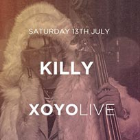 Killy at XOYO on Wednesday 3rd July 2019