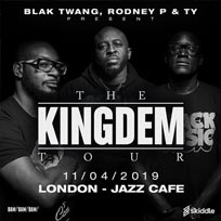 The Kingdem Tour at Jazz Cafe on Thursday 11th April 2019