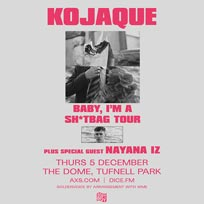 Kojaque at The Dome on Thursday 5th December 2019