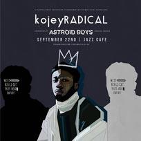 Kojey Radical at Jazz Cafe on Thursday 22nd September 2016
