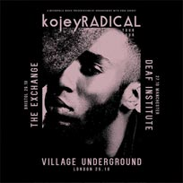 Kojey Radical at Village Underground on Wednesday 25th October 2017