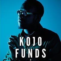 Kojo Funds at Electric Brixton on Thursday 5th April 2018