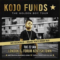 Kojo Funds at The Forum on Tuesday 22nd January 2019