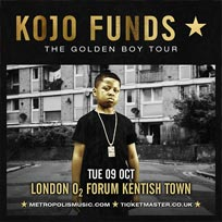 Kojo Funds at The Forum on Tuesday 9th October 2018