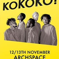 KOKOKO! at Archspace on Sunday 12th November 2017