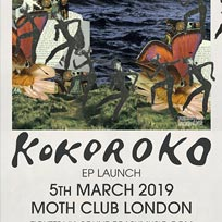 Kokoroko at MOTH Club on Tuesday 5th March 2019