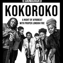 Kokoroko at Rich Mix on Saturday 15th September 2018