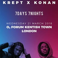 Krept & Konan  at The Forum on Thursday 22nd March 2018