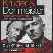 Kruder & Dorfmeister at The Roundhouse on Friday 5th October 2018