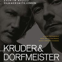 Kruder & Dorfmeister at Hammersmith Apollo on Saturday 23rd November 2019