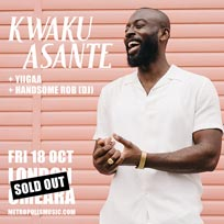Kwaku Asante at Omeara on Friday 18th October 2019