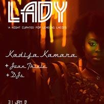 Kadija Kamara at The Finsbury on Tuesday 31st January 2017