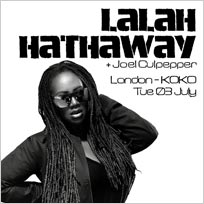 Lalah Hathaway at KOKO on Tuesday 3rd July 2018