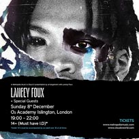Lancey Foux at Islington Academy on Sunday 8th December 2019