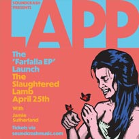 Lapp at The Slaughtered Lamb on Thursday 25th April 2019