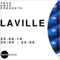 Laville at EartH on Wednesday 25th September 2019