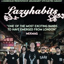 Lazy Habits at Soundcrash on Wednesday 22nd November 2017