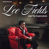 Lee Fields & the Expressions at Shepherd's Bush Empire on Saturday 4th May 2019