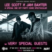Lee Scott x Jam Baxter at Westbank on Friday 8th November 2019