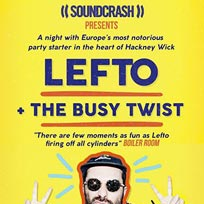 Lefto  at Soundcrash on Saturday 18th November 2017