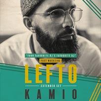 Lefto at Kamio on Friday 7th October 2016