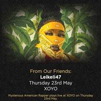 Leikeli47 at XOYO on Thursday 23rd May 2019