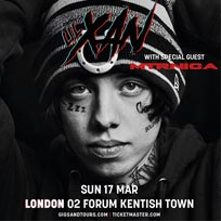 Lil' Xan at The Forum on Sunday 17th March 2019