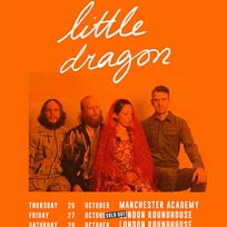 Little Dragon at The Roundhouse on Saturday 28th October 2017