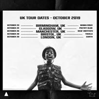 Little Simz at EartH on Tuesday 29th October 2019