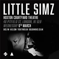 Little Simz at The Courtyard Theatre on Wednesday 6th March 2019