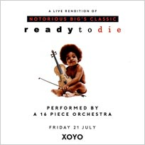 An Orchestral Rendition of Ready To Die at Jazz Cafe on Friday 21st July 2017