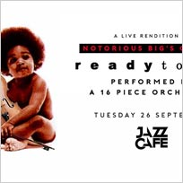 An Orchestral Rendition of Ready To Die at Jazz Cafe on Tuesday 26th September 2017