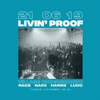 Livin' Proof at Village Underground on Friday 21st June 2019