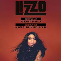 Lizzo at The Forum on Monday 27th May 2019