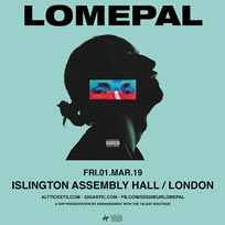 Lomepal at Islington Academy on Friday 1st March 2019