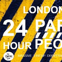 24 HOUR PARTY People! at The Empire Bar on Monday 31st December 2018