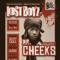 Mr Cheeks (Lost Boyz) at Chip Shop BXTN on Thursday 29th March 2018